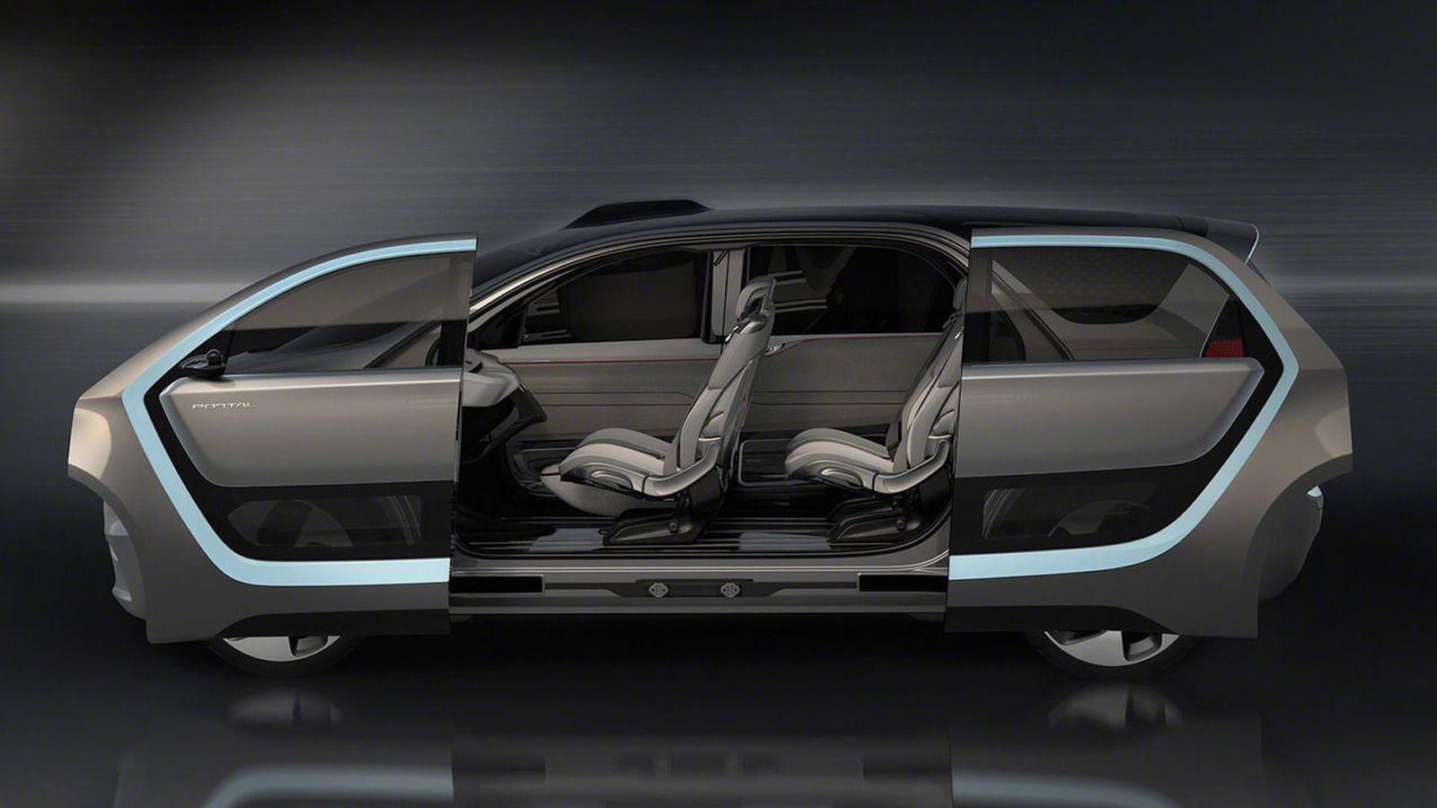 Chrysler Portal: un vehículo autónomo, eléctrico y familiar